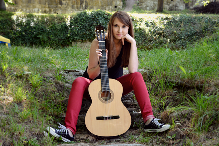 rock style guitare instrument musique nathalie rousse