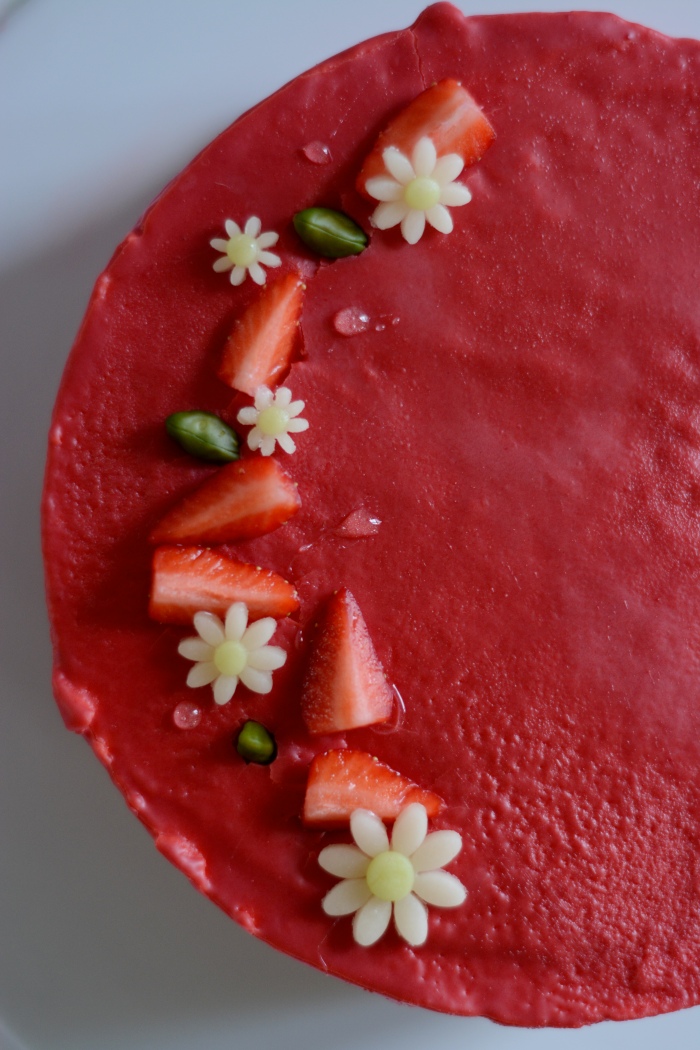 Extraordinaire Recette De Fraisier De Cyril Lignac le fraisier façon cyril lignac - les jolies choses de nathou