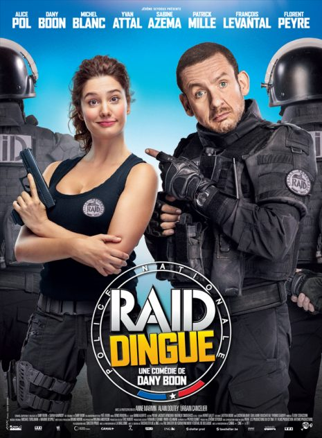 affiche-film-raid-dingue-comedie-france-dany-boon