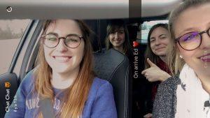 selfie copines concert route zurich camille stefou