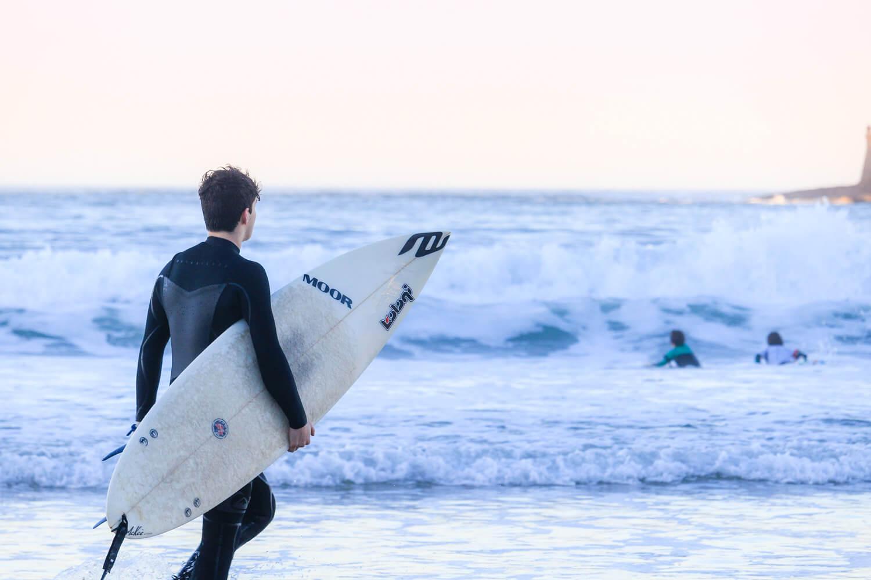 surf decembre ocean vagues san sebastian