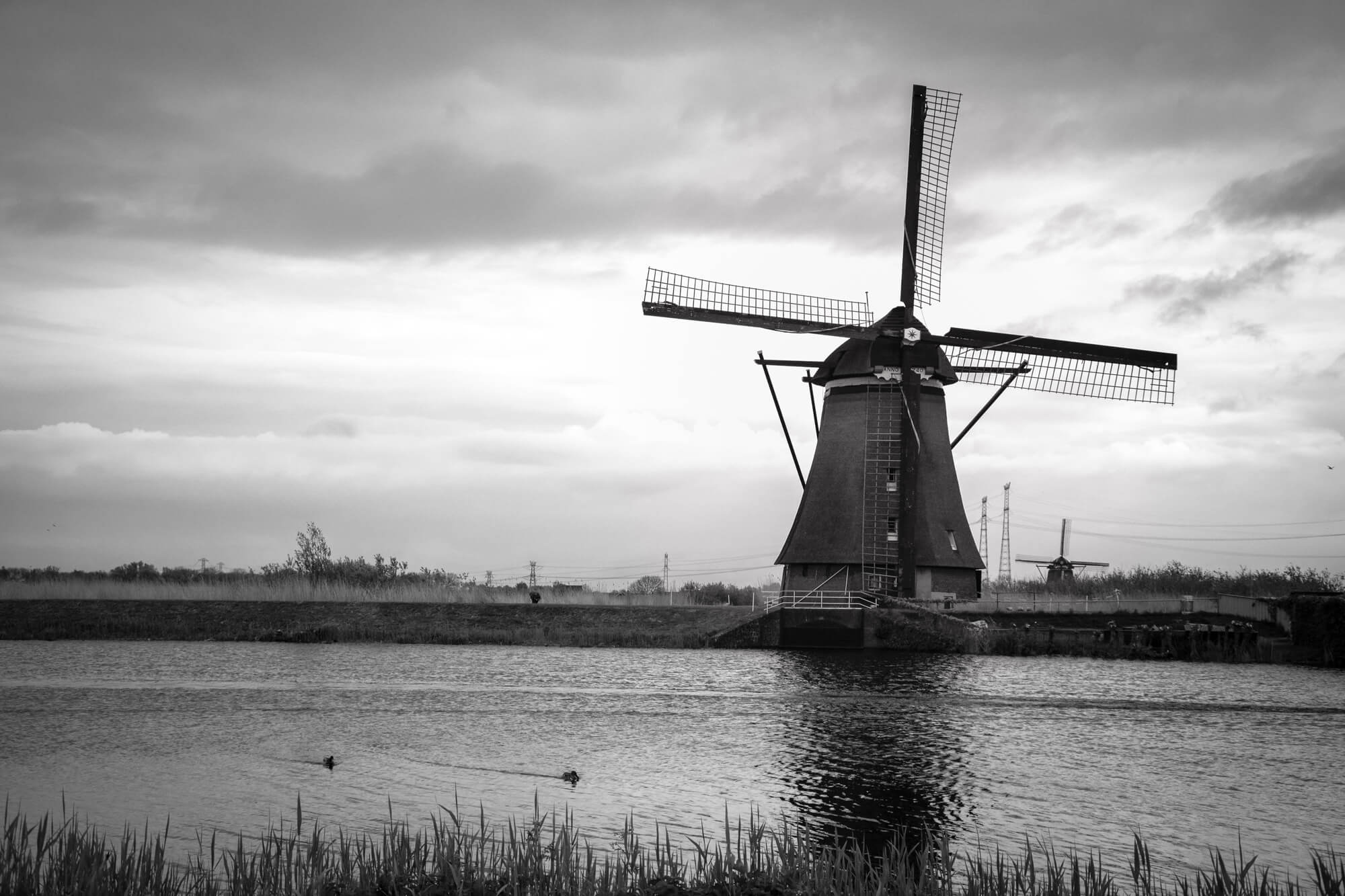 moulin photographie paysage kinderdijk visite hollande