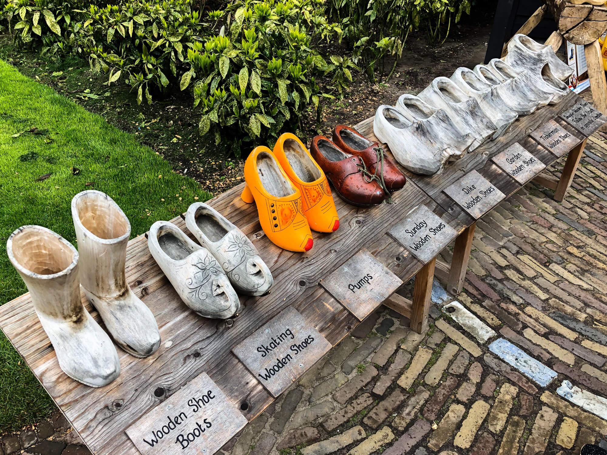 sabot hollande pays tulipes keukenhof bulbes