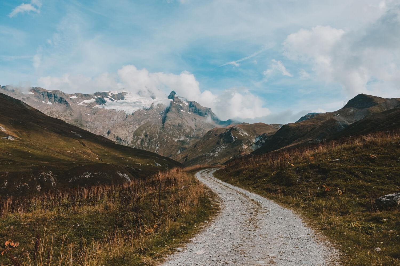 neige randonnee sommet marmottes paysages refuge les mottets chapieux