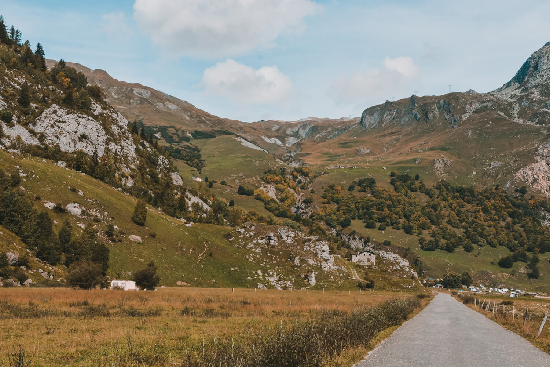 roadtrip vallee chapieux glaciers automne montagne savoie