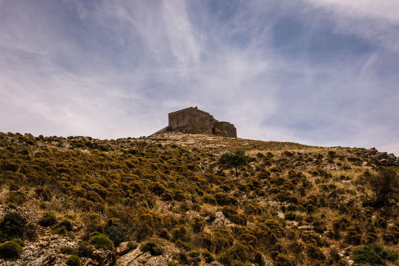chateau ruines volterraio ile elbe portoferraio
