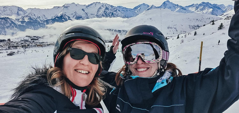 amitie ski morganedevous blog vacances montagne france