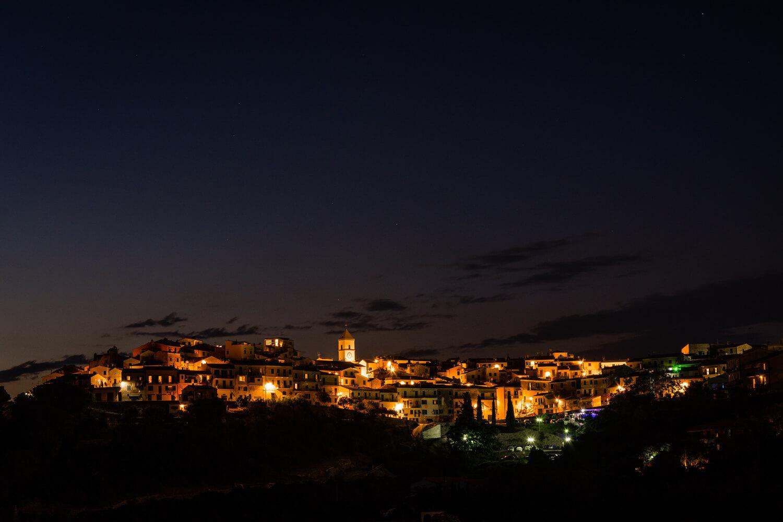 photographie nuit etoiles ville lumiere italie elba