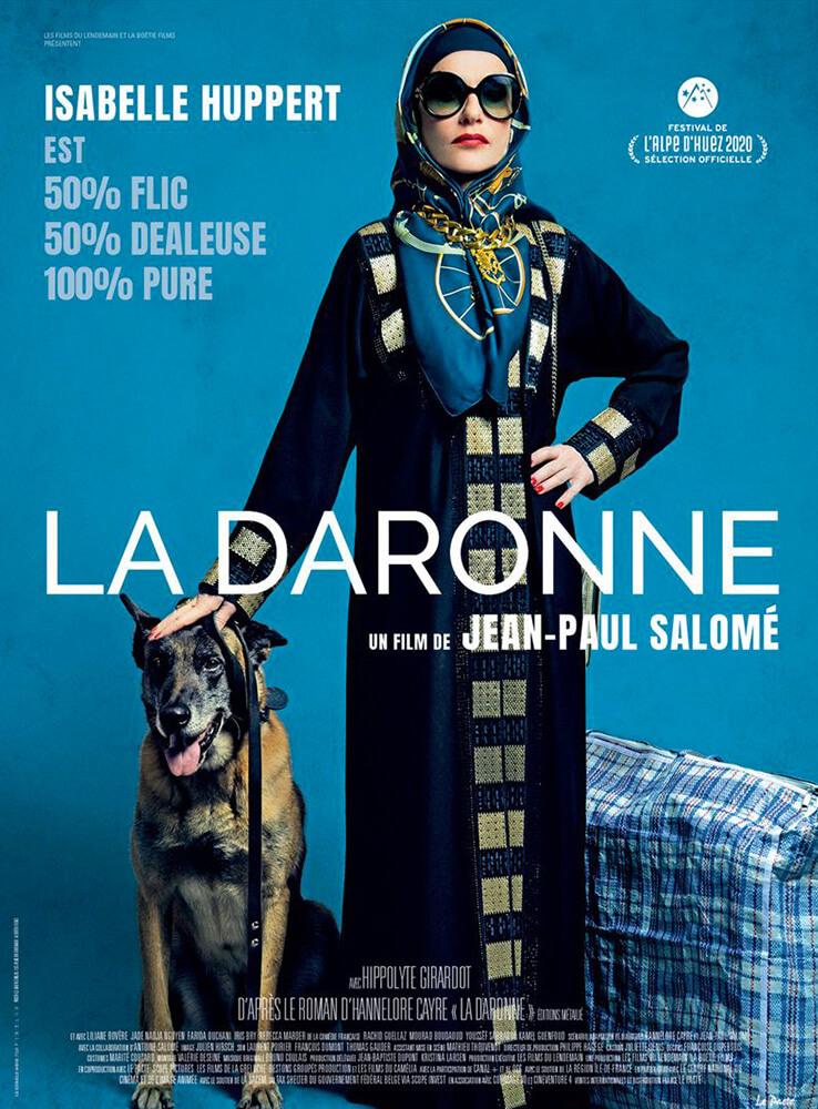 affiche film la daronne jean-paul salome avant premiere