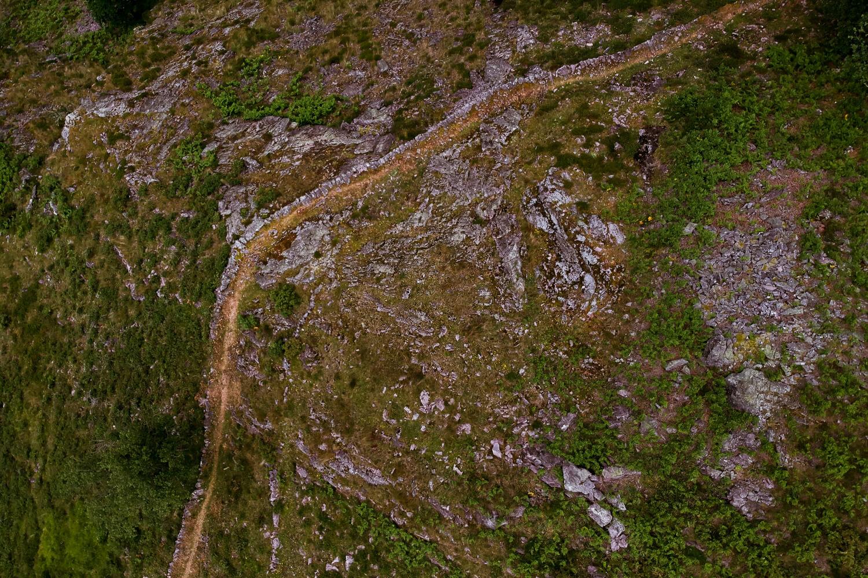 chemin randonnée trail Pays Basque montagne
