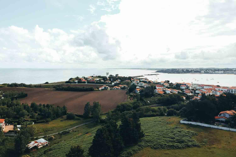 photographie drone dji spark Ciboure pays basque