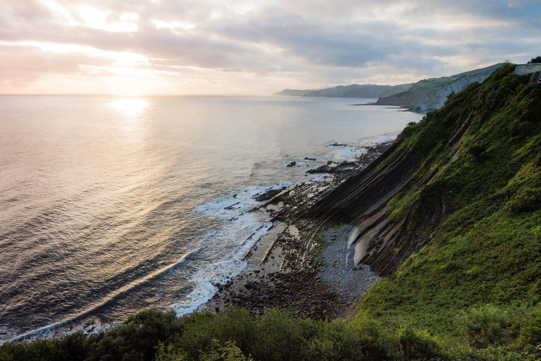 route pays basque espagnol Bilbao océan atlantique