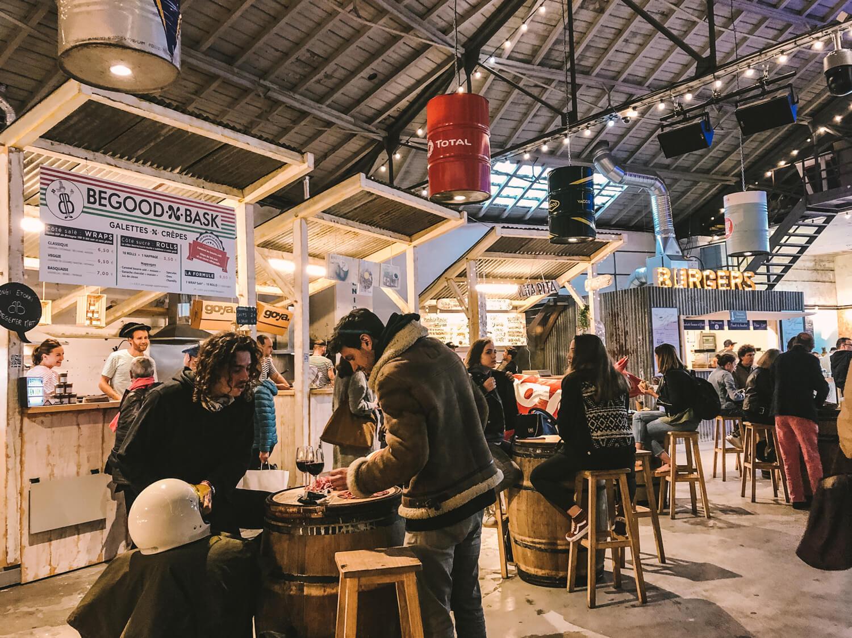 stand food drink le garage luzien concerts soirées
