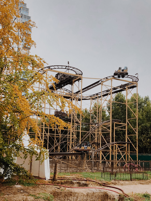 grand huit famille descente schlitt coaster Nigloland